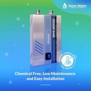 chemical free,low maintenace,clean water